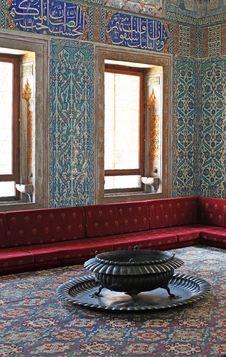 Free Topkapi Palace, Harem. Istanbul Royalty Free Stock Image - 31784866