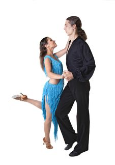 Free Dancing Couple Royalty Free Stock Photo - 31786535