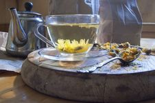 A Cup Of Herbal Tea Royalty Free Stock Photography