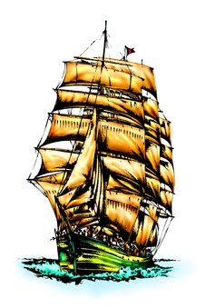 Free Seaship Royalty Free Stock Image - 31787256