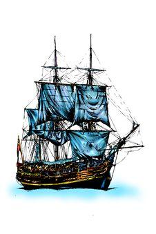 Free Seaship Royalty Free Stock Image - 31787276