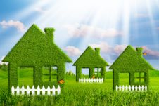 Free Green House. Royalty Free Stock Photography - 31788097