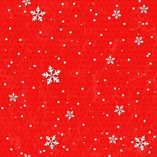 Free Seamless Background With Snowflakes. Royalty Free Stock Photography - 31788867