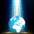 Free PLANET EARTH LIGHT BACKGROUND Stock Images - 31795094