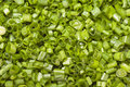 Free Chopped Green Onions, Or Leeks Shot From Above. Royalty Free Stock Photography - 31796697