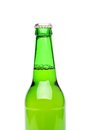 Free Beer Bottle Isolated On White Royalty Free Stock Photos - 31797088