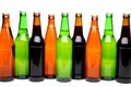 Free A Row Of Beer Bottles. Stock Photography - 31797152