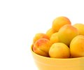 Free Fresh Apricot On A Bowl Royalty Free Stock Photography - 31798107