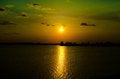 Free Sunset On Lake Royalty Free Stock Photography - 31799397