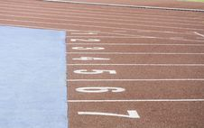 Free Running Race Track Stock Photo - 31790740