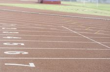 Free Running Race Track Stock Photos - 31790753