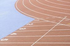 Free Running Race Track Royalty Free Stock Photography - 31790757
