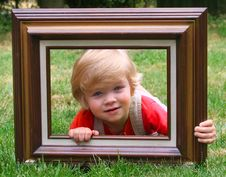 Free Boy In Frame Stock Photos - 31792803