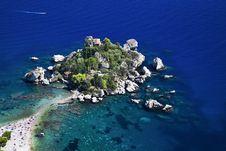 Free Blue Lagoon, Island Paradise. Royalty Free Stock Photography - 31793397