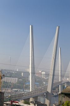Free Suspension Bridge Royalty Free Stock Photo - 31793915