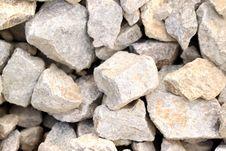 Granite Gravel Texture Royalty Free Stock Photo
