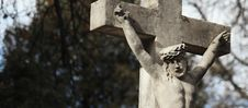 Free Holy Cross With Crucified Jesus Christ Stock Photography - 31798302