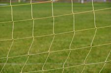 Free Netting Used For A Soccer Ball Goal Royalty Free Stock Images - 31799429