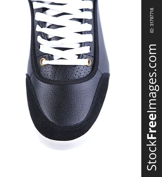 Sport shoe isolated. Close-up.