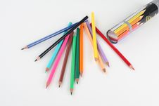 Free Colorful Crayons Royalty Free Stock Photos - 3180168