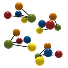 Free 3d Molecule Stock Photography - 3180232