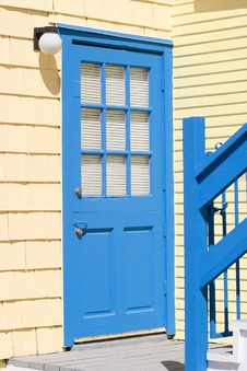 Free Colorful Blue Door Stock Images - 3180484