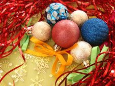 Free Christmas Decoration 4 Royalty Free Stock Photography - 3181507