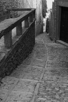 Old Town Eriche In Sicily Royalty Free Stock Images