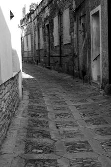 Old Town Eriche In Sicily Royalty Free Stock Image