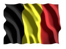 Free Belgian Flag Royalty Free Stock Photography - 3182837