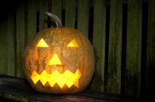 Free Pumpkin Royalty Free Stock Image - 3183106