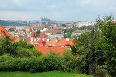 Free Prague Red Tile Roofs Royalty Free Stock Photo - 3183555