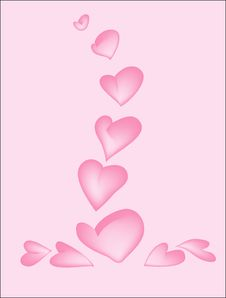 Free Rose Hearts Stock Photography - 3183642