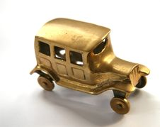 Free Model Brass Car Royalty Free Stock Photography - 3183667
