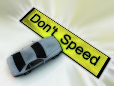 Free Don T Speed 51 Stock Images - 3183784