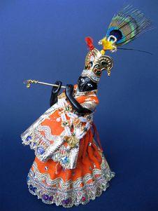 Free Shri Krishna Royalty Free Stock Photos - 3183878