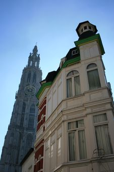 Free Antwerp Royalty Free Stock Photos - 3184118