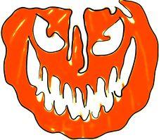 Free Smiling Halloween Pumpkin Royalty Free Stock Images - 3184239