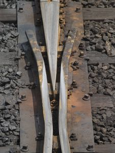 Free Detail Of Railway Track Stock Photography - 3184292