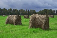 Free Hay Bales Stock Photos - 3184763