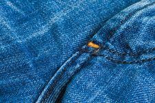 Free Dark Denim Jeans Stock Image - 3184871