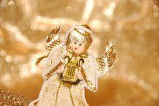 Free Christmas Angel Stock Photography - 3186092