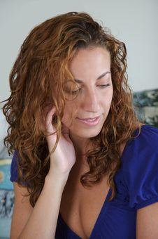 Free Female Thinking Royalty Free Stock Images - 3186369