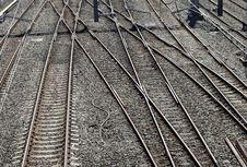 Free Railway Tracks Royalty Free Stock Images - 3186589
