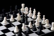 Free Chess - Armistice Royalty Free Stock Photo - 3187095