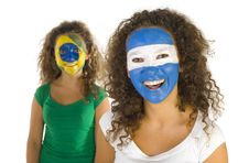 South American Womans Royalty Free Stock Images