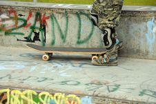Free Skateboard Ramp At Park Royalty Free Stock Images - 3187569