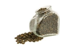 Free Coffee Jar Of Beans Stock Photos - 3187763