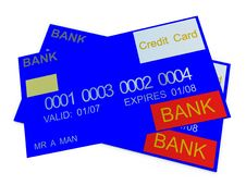 Free Credit Card 10 Royalty Free Stock Photos - 3188508