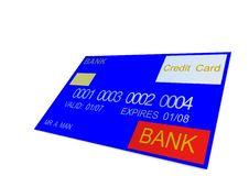 Free Credit Card 8 Royalty Free Stock Photo - 3188515